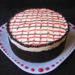 TWD Brownie-Cherry Torte and DB's Macarons, oh my