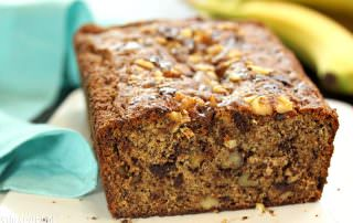 Banana Bread | From SugarHero.com