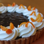 TWD: Kumquat-Chocolate Tart