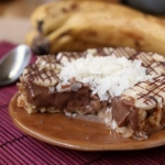 TWD: Banana-Coconut Ice Cream Pie