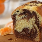 TWD: Chocolate-Orange Marbled Loaf Cake