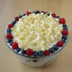 Last-Minute Berry Trifle