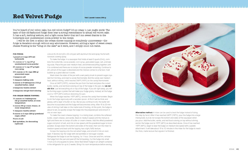 Red Velvet Fudge from The Sweet Book of Candy Making