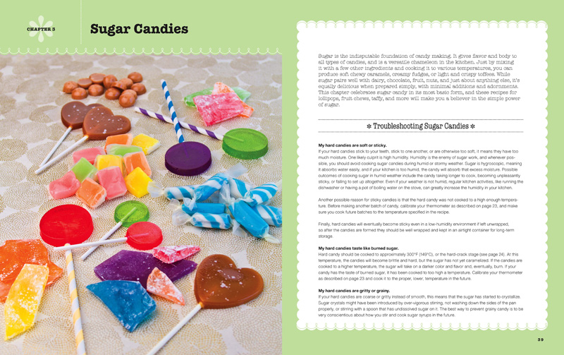 Sugar Candy Troubleshooting from The Sweet Book of Candy Making