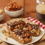 Peanut & Pretzel SuperBars (For the Super Bowl)