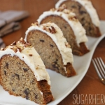 Roasted Banana Bundt Cake