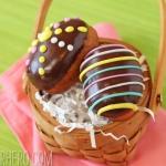 Easter Egg Doughnuts