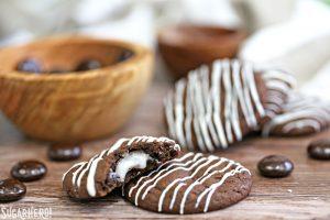 Junior Mint Cookies | From SugarHero.com