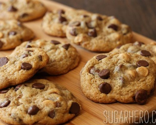 Peanut Butter Banana Chocolate Chip Cookies Sugarhero