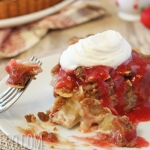 Rhubarb Streusel Tart