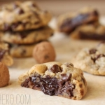 Truffle-Stuffed Chocolate Chip Cookies