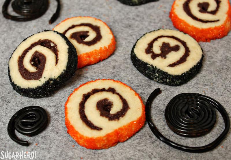 Sugar Cookie Pinwheels | From SugarHero.com