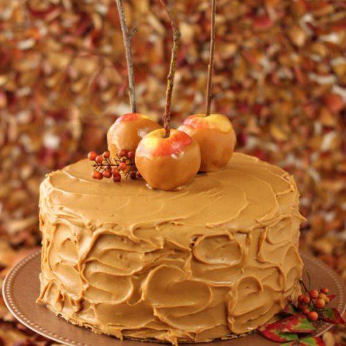 Outstanding Caramel Apple Cake Sugarhero Funny Birthday Cards Online Fluifree Goldxyz