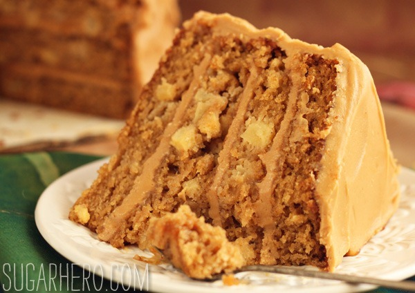 Caramel Apple Cake | SugarHero.com