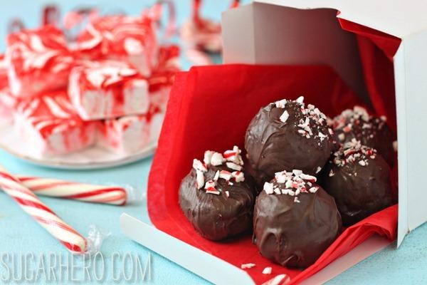 Hot Chocolate Truffles | SugarHero.com