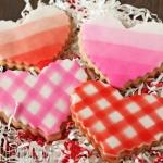 Brown Butter Heart Cookies