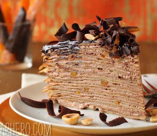 Nutella Crepe Cake Sugarhero