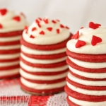 Red Velvet Icebox Cakes