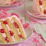 Raspberry-Rose Cake Recipe