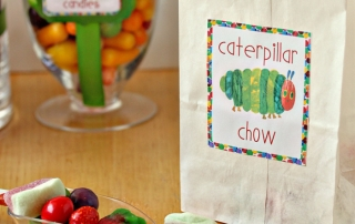 Very Hungry Caterpillar Party | From SugarHero.com