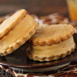 Salted Caramel Ice Cream Sandwiches
