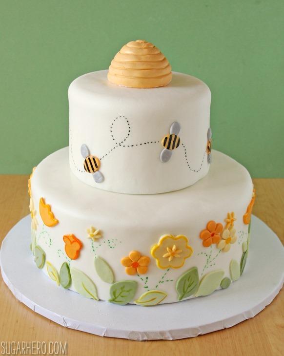Bee Sugar Cake Fondant Recipe