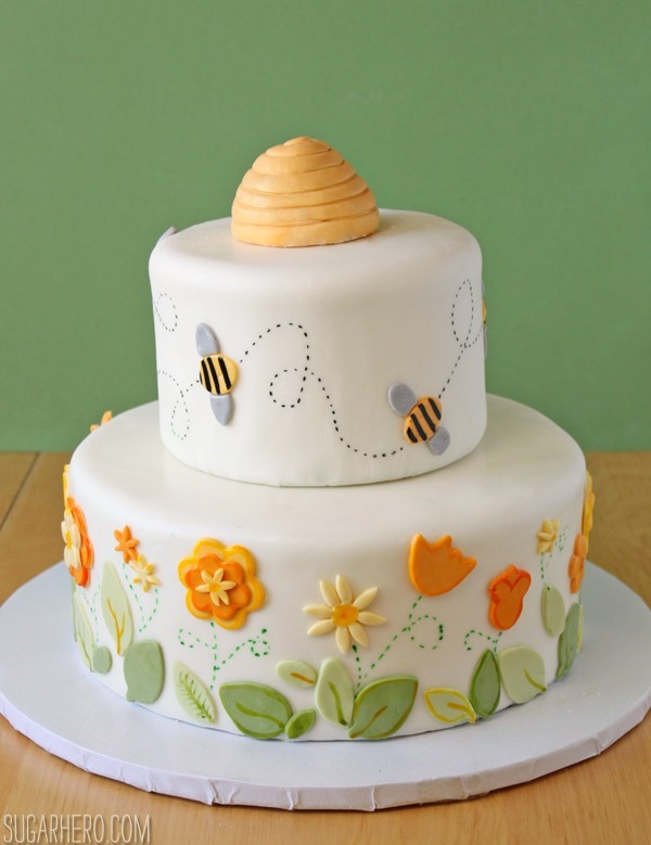 Bumblebee Cake | SugarHero.com