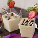 Crème Fraîche Panna Cotta
