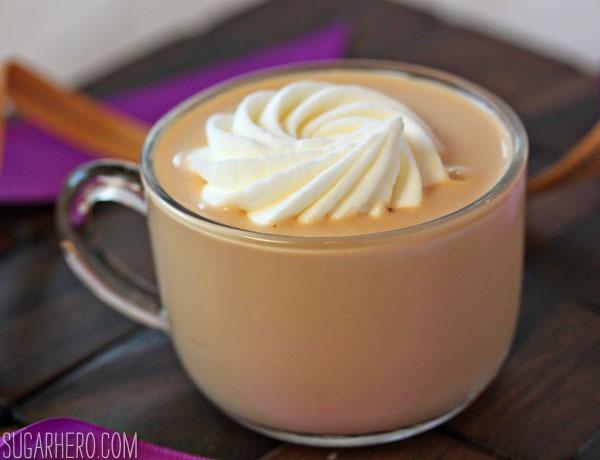 Salted Caramel Milk | SugarHero.com