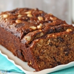 Banana Coconut Macadamia Nut Bread
