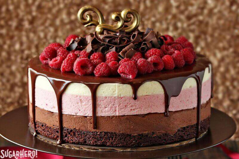 Raspberry Topping For Chocolate Cake