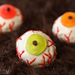 Doughnut Hole Monster Eyeballs