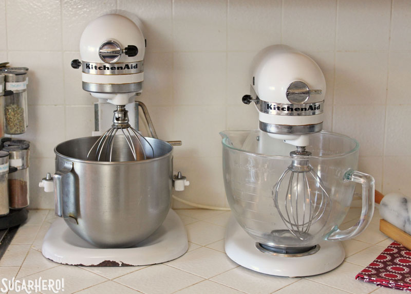 KitchenAid Mixers from SugarHero.com