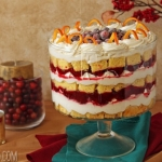 Cranberry Orange Trifle