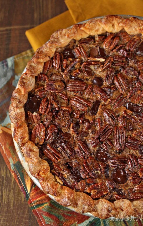 Deep-Dish Pecan Pie | SugarHero.com