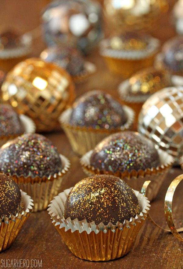 Disco truffles for new years eve sugarhero disco truffles for new years eve forumfinder Gallery
