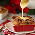Pannetone Bread Pudding