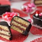 Nutella Pound Cake Petit Fours