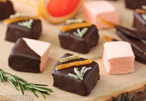 Grapefruit Marshmallows