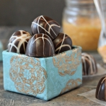 Caramelized White Chocolate Truffles