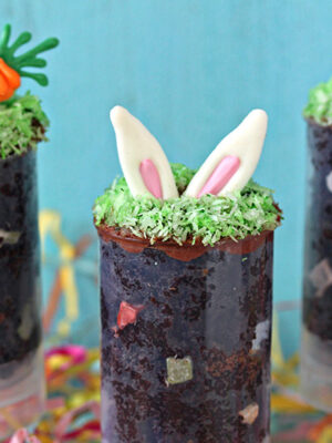 Easter Cake Push Pops | From SugarHero.com