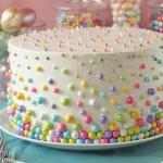 Easter Polka Dot Cake