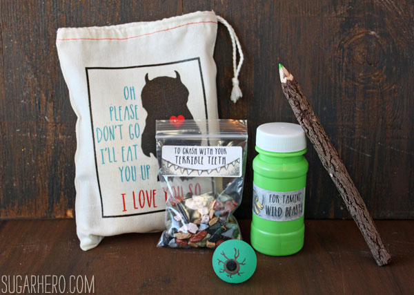 Where the Wild Things Are Party Favors | SugarHero.com