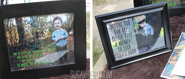Where the Wild Things Are Party | SugarHero.com