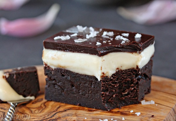 Goat Cheese Brownies | SugarHero.com