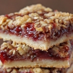 Strawberry Basil Crumb Bars