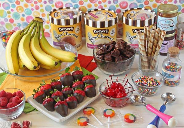 The Ultimate Banana Split | From SugarHero.com