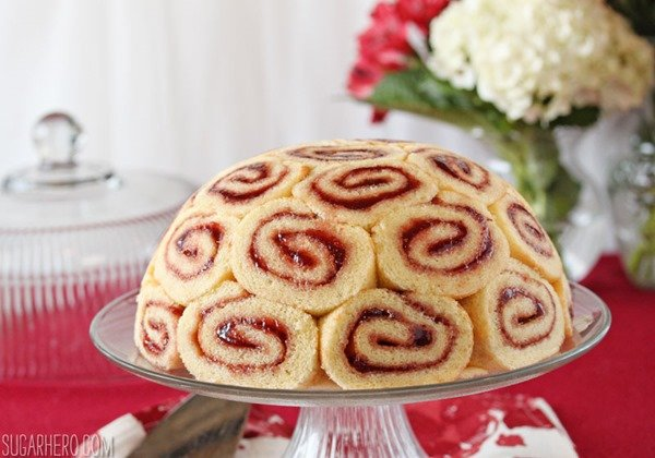 How To Make Swiss Roll Cake