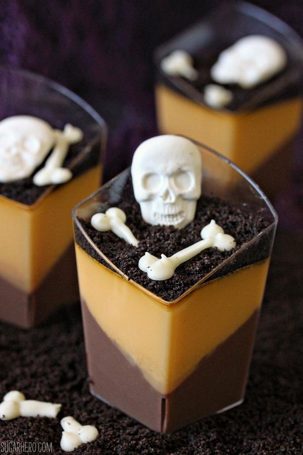 Chocolate Orange Panna Cotta | From SugarHero.com