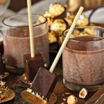 Hazelnut Hot Chocolate On A Stick